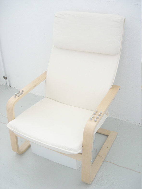 Zapping chair